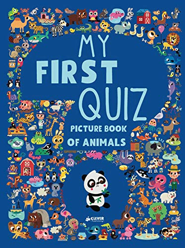My First Quiz Picture Book of Animals (Clever Quiz Books)