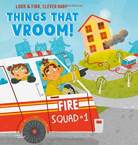 Things that Vroom! (Look & Find, Clever Baby)