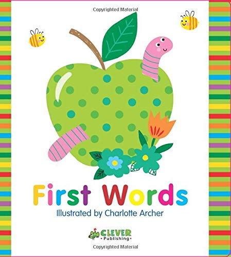 First Words (Clever Colorful Concepts)