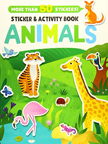 Animals (Clever Sticker & Activity Book)