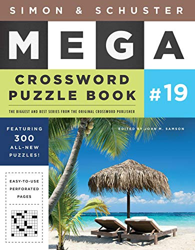 Simon & Schuster Mega Crossword Puzzle Book (Volume 19)