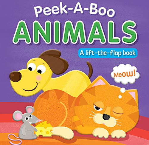 Peek-A-Boo Animals Lift-the-Flap Book