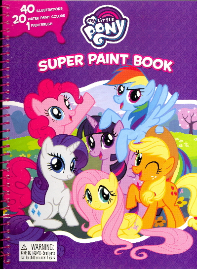 Super Paint Book (My Little Pony)