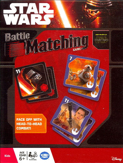 Battle Matching Game (Star Wars)