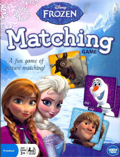 Matching Game (Disney Frozen)